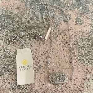 Kendra Scott Silver Necklace